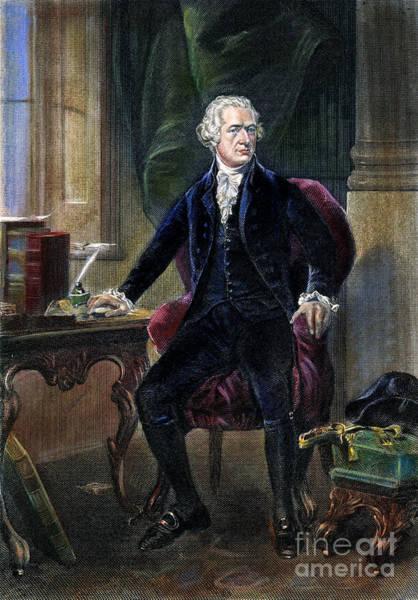 Photograph - Alexander Hamilton by Granger