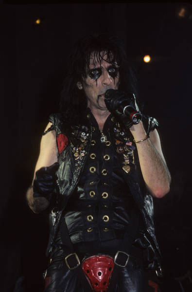 Photograph - Alice Cooper by Rich Fuscia