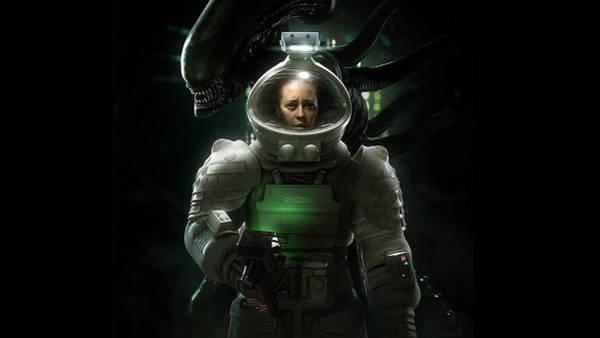 Alien Digital Art - Alien Isolation by Maye Loeser