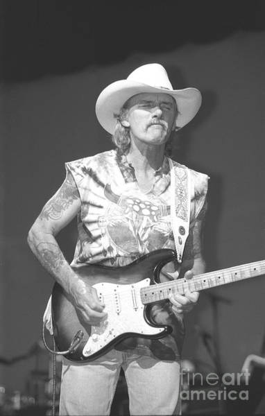 Allman Brothers Band Photograph - Allman Brothers Band Dickey Betts  by Concert Photos