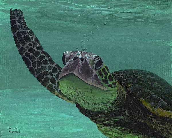 Painting - Aloha From Maui by Darice Machel McGuire