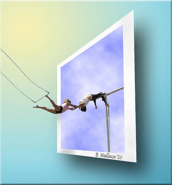 Trapeze Photograph - Alternate Universes by Brian Wallace