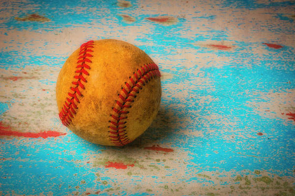 Wall Art - Photograph - American Baseball by Garry Gay