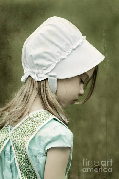 Amish Country Photograph - Amish Child by Stephanie Frey