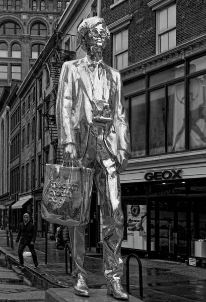 Andy Warhol Statue Union Square Nyc Photograph By Robert