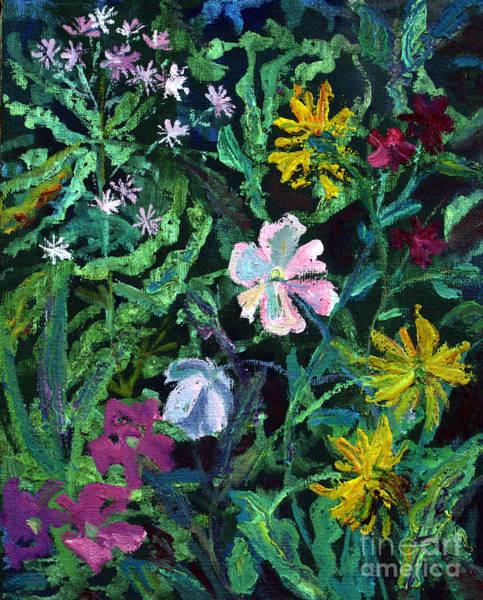 Anemones Art Print by Katia Weyher