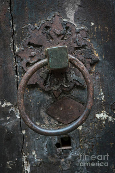 Photograph - Antique Door Knocker by Elena Elisseeva