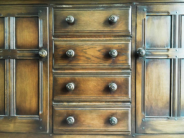 Chest Photograph - Antique Furniture by Tom Gowanlock