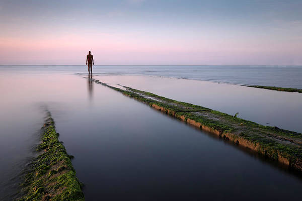 Margate Photograph - Antony Gormley - Another Time by Ian Hufton