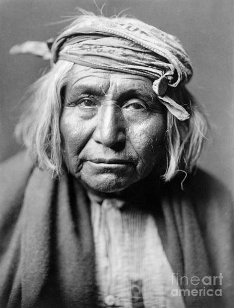 American Indian Wall Art - Photograph - Apache Man, C1906 by Granger