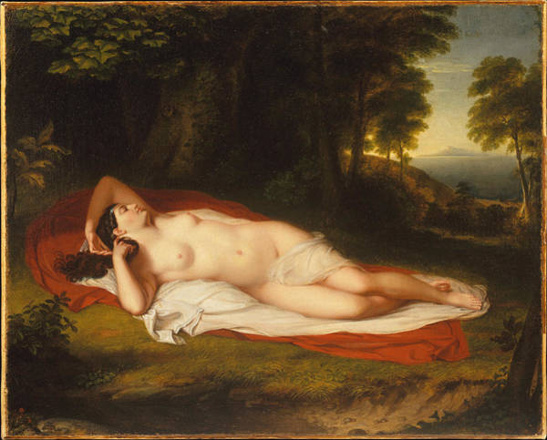 Perfect Body Painting - Ariadne by Asher Brown Durand