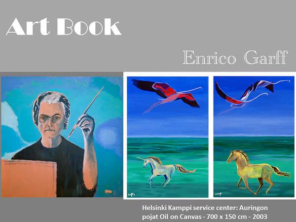 Painting - Art Book by Enrico Garff