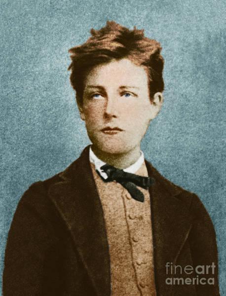 Photograph - Arthur Rimbaud by Photo Researchers