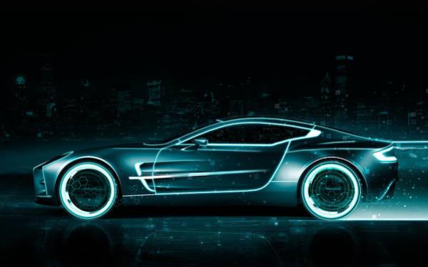 Aston Martin Photograph - Aston Martin by Mariel Mcmeeking