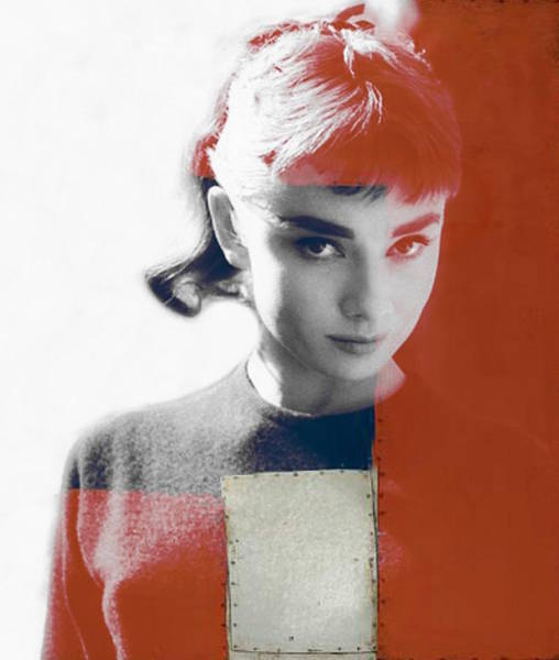 Wall Art - Digital Art - Audrey Hepburn  by Paul Lovering