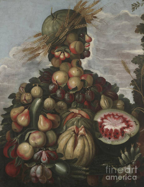 Wall Art - Painting - Autumn by Giuseppe Arcimboldo