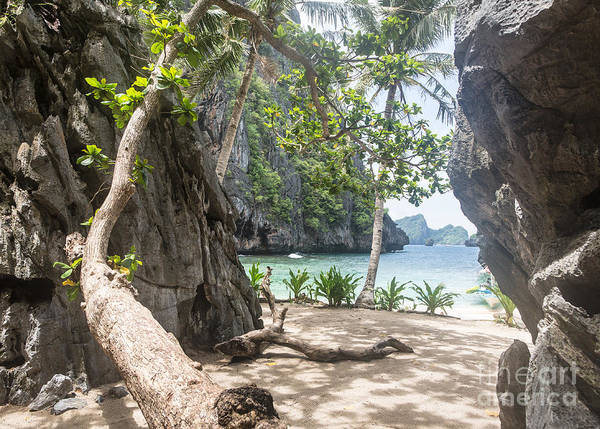 Photograph - Awesome Beach In The Stunning Bacuit Archipelago In El Nido  by Didier Marti