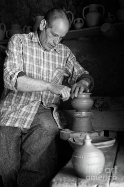 Potters Wheel Wall Art - Photograph - Azores Islands Pottery by Gaspar Avila