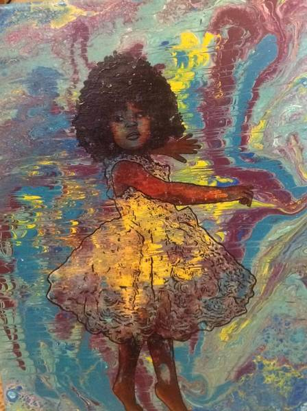 Painting - Baby Dancer  by Karen Buford