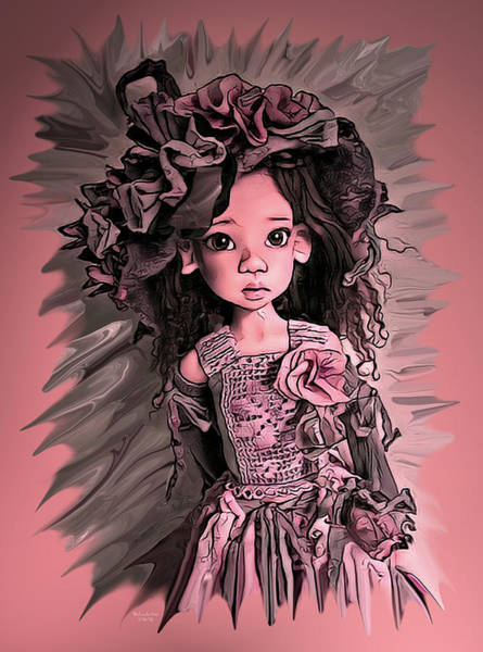 Digital Art - Baby Doll Collection by Artful Oasis
