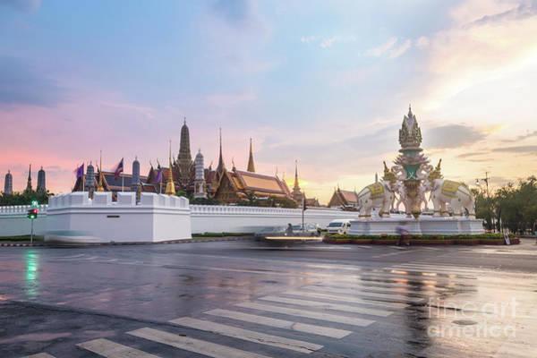 Photograph - Bangkok Royal Palace And Wat Phra Kaew by Didier Marti