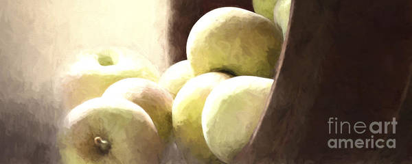 Photograph - Basket Of Apples by Pam  Holdsworth