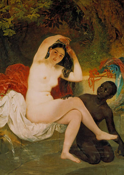Painting - Bathsheba by Karl Bryullov