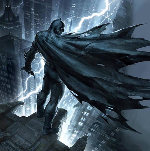 Batman The Dark Knight Returns 2012 Art Print