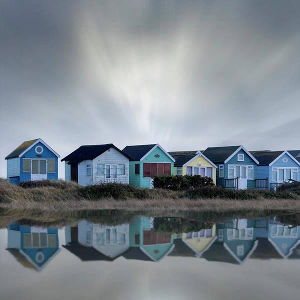 Wall Art - Photograph - Beach Huts by Joana Kruse