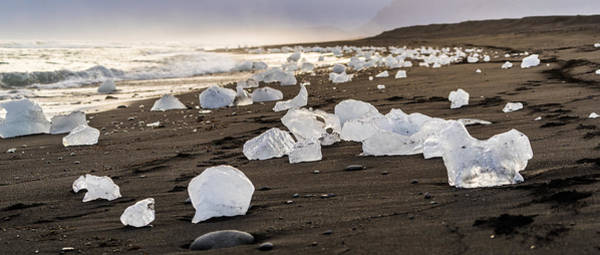 Photograph - Beach Ice by James Billings