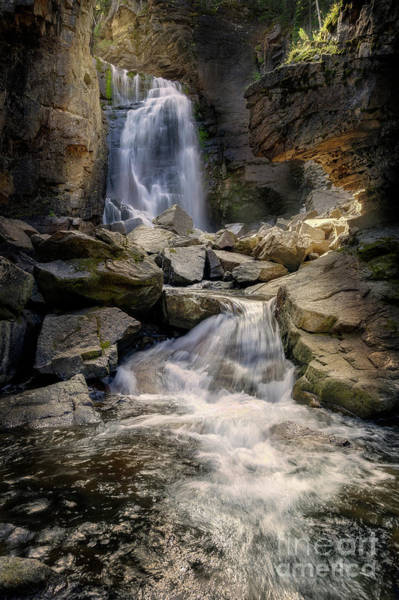 Photograph - Beartooth Falls by Craig J Satterlee