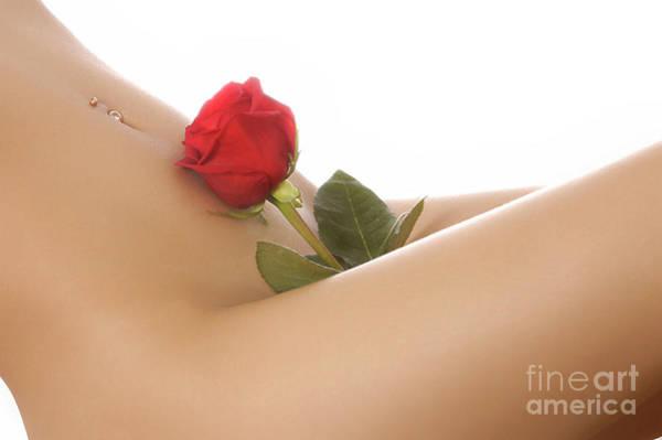 Wall Art - Photograph - Beautiful Female Body by Oleksiy Maksymenko
