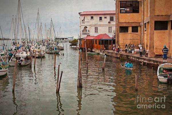 Photograph - Belize City Harbor by Tatiana Travelways