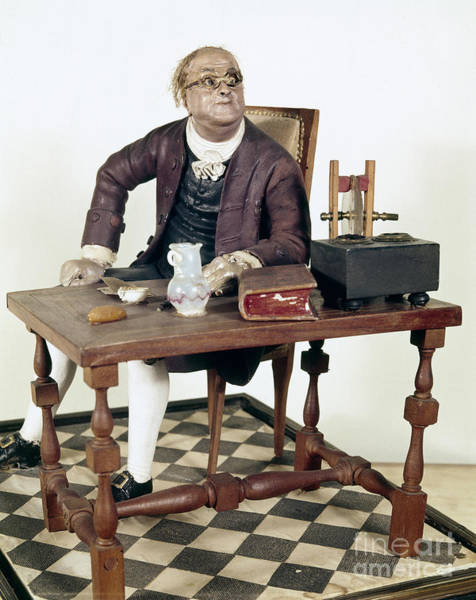 Photograph - Benjamin Franklin (1706-1790) by Granger