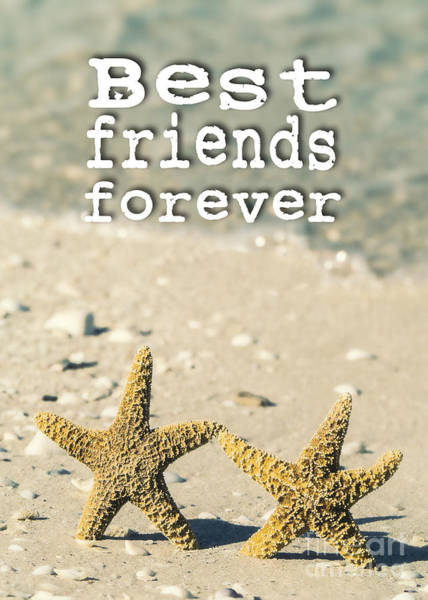Partner Photograph - Best Friends Forever by Edward Fielding