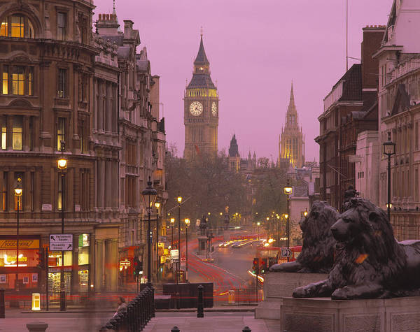 Wall Art - Photograph - Big Ben London England by Panoramic Images