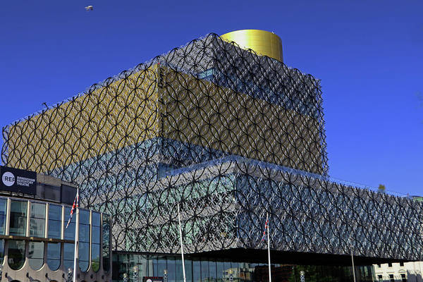 Photograph - Birmingham Library by Tony Murtagh