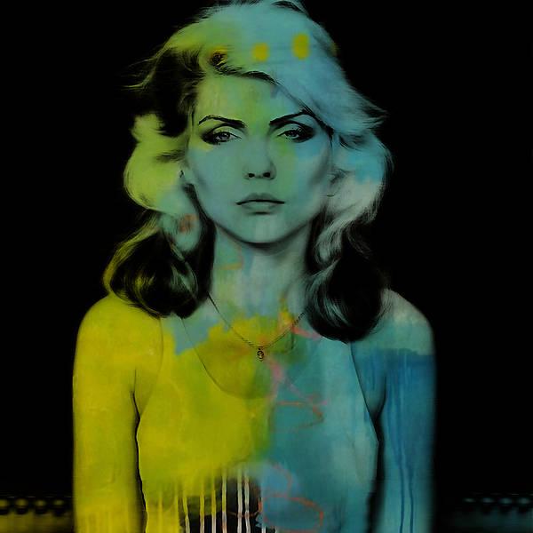 Wall Art - Mixed Media - Blondie Debbie Harry by Marvin Blaine