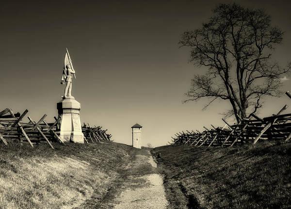 Battleground Photograph - Bloody Lane - Antietam by Mountain Dreams