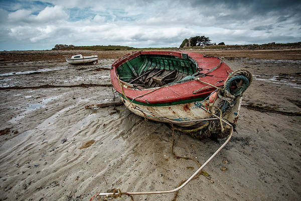 Vessel Photograph - Boats By The Sea by Nailia Schwarz