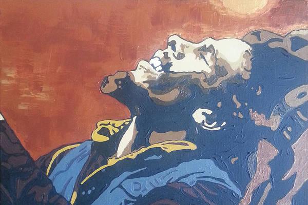 Painting - Bob Marley by Rachel Natalie Rawlins