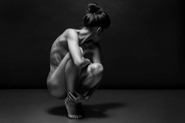 Lady Photograph - Bodyscape by Anton Belovodchenko