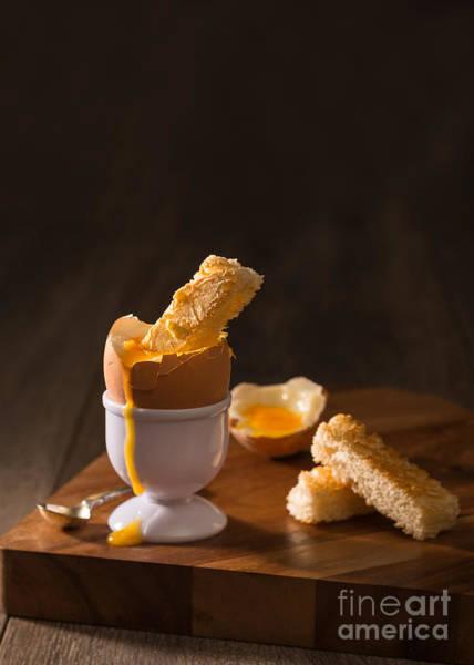 Yolk Wall Art - Photograph - Boiled Egg by Amanda Elwell