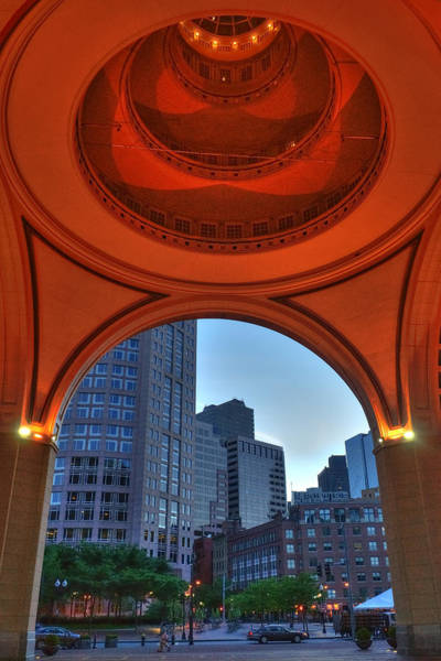 Wall Art - Photograph - Boston Harbor Hotel Rotunda by Joann Vitali