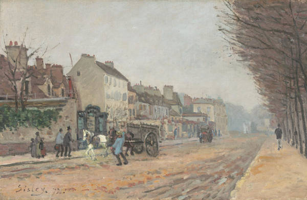 Painting - Boulevard Heloise Argenteuil by Alfred Sisley