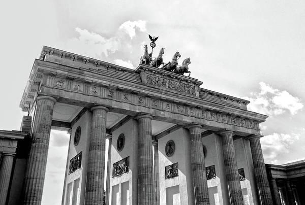 Photograph - Brandenburg Gate - Berlin by Juergen Weiss