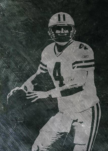 Green Bay Packers Wall Art - Photograph - Brett Favre Packers by Joe Hamilton