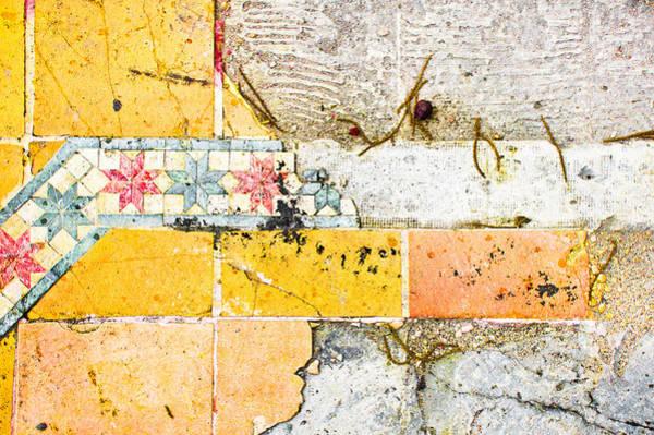 Missing Wall Art - Photograph - Broken Tiles by Tom Gowanlock