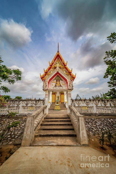 Wall Art - Photograph - Buddhist Temple by Adrian Evans