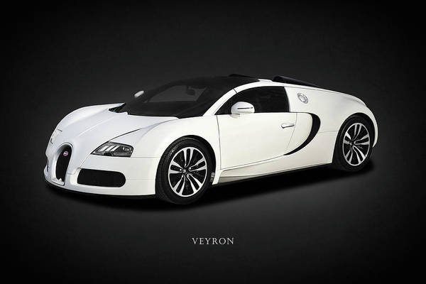 Super Cars Photograph - Bugatti Veyron by Mark Rogan